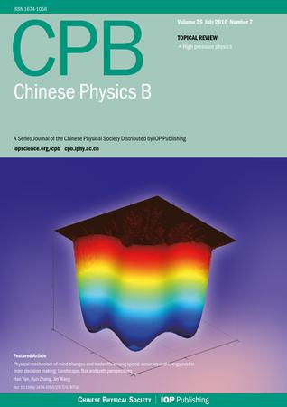 Chinese Physics B template (IOP Publishing)