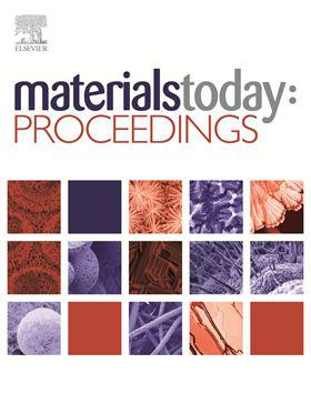 Materials Today: Proceedings template (Elsevier)