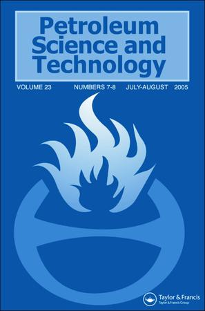 Petroleum Science and Technology template (Taylor and Francis)
