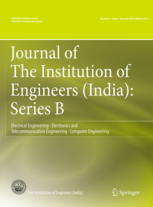 Journal of The Institution of Engineers (India): Series B template (Springer)