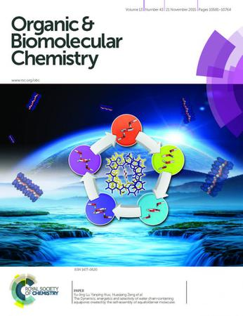 Organic and Biomolecular Chemistry template (Royal Society of Chemistry)