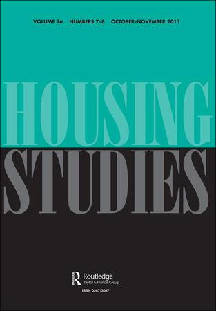 Housing Studies template (Taylor and Francis)
