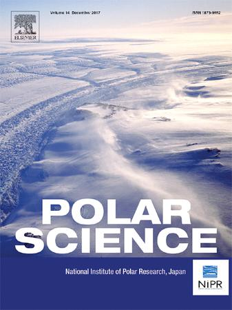 Polar Science template (Elsevier)