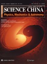 Science China Physics, Mechanics & Astronomy template ( Mechanics & Astronomy)