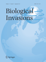 Biological Invasions template (Springer)
