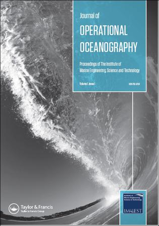 Journal of Operational Oceanography template (Taylor and Francis)
