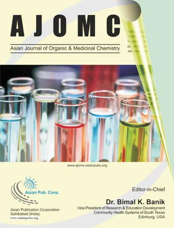 Asian Journal of Organic & Medicinal Chemistry template (Asian Publication Corporation)