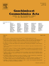 Geochimica et Cosmochimica Acta template (Elsevier)