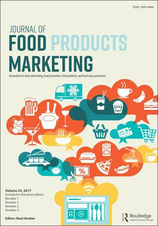Journal of Food Products Marketing template (Taylor and Francis)