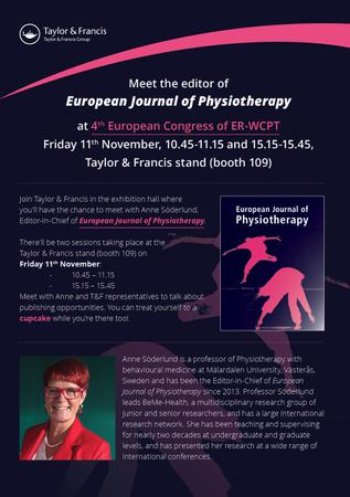 European Journal of Physiotherapy template (Taylor and Francis)
