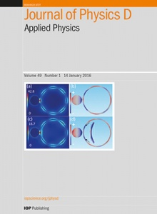 Journal of Physics D: Applied Physics template (IOP Publishing)
