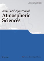 Asia-Pacific Journal of Atmospheric Sciences template (Springer)
