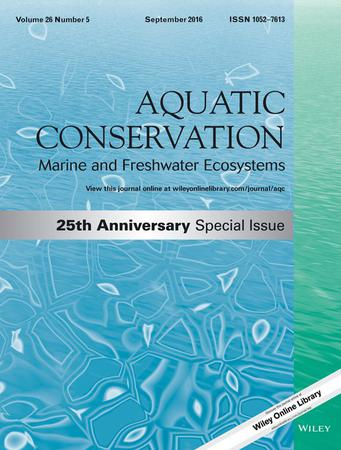 Aquatic Conservation: Marine and Freshwater Ecosystems template (Wiley)