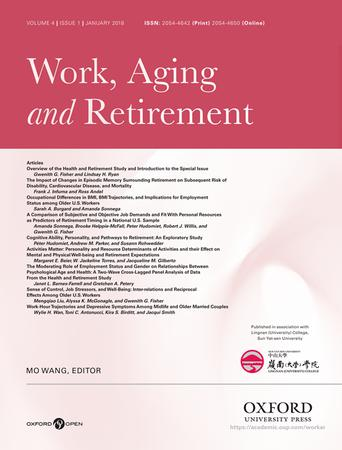 Work, Aging and Retirement template ( Aging and Retirement)