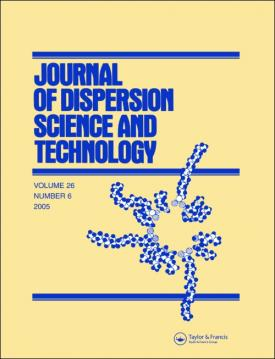 Journal of Dispersion Science and Technology template (Taylor and Francis)
