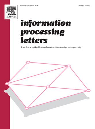 Information Processing Letters template (Elsevier)