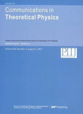 Communications in Theoretical Physics template (IOP Publishing)