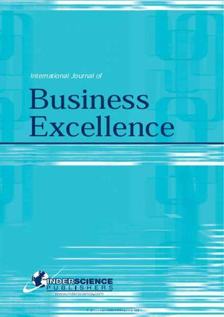 International Journal of Business Excellence template (Inderscience Publishers)
