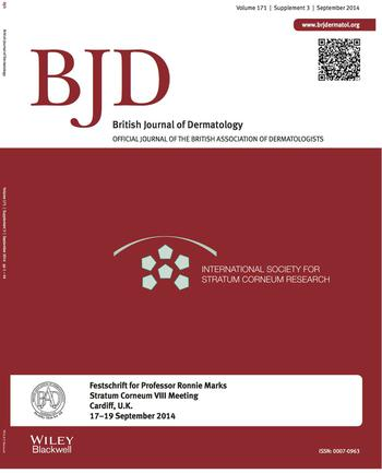 British Journal of Dermatology template (Wiley)