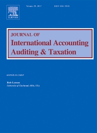 Journal of International Accounting, Auditing and Taxation template ( Auditing and Taxation)