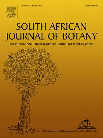 South African Journal of Botany template (Elsevier)