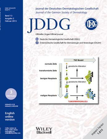 JDDG: Journal der Deutschen Dermatologischen Gesellschaft template (Wiley)
