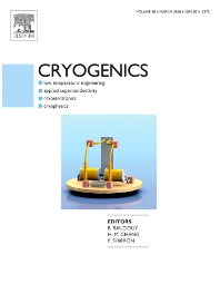 Cryogenics template (Elsevier)