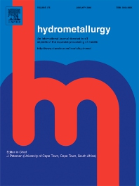 Hydrometallurgy template (Elsevier)