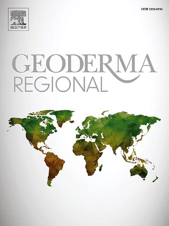 Geoderma Regional template (Elsevier)
