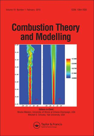 Combustion Theory and Modelling template (Taylor and Francis)