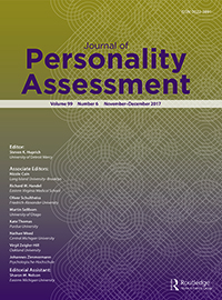 Journal of Personality Assessment template (Taylor and Francis)