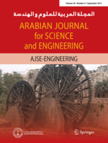 Arabian Journal for Science and Engineering template (Springer)