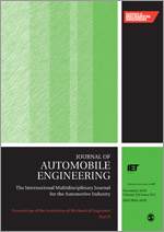 Proceedings of the Institution of Mechanical Engineers, Part D: Journal of Automobile Engineering template ( Part D: Journal of Automobile Engineering)