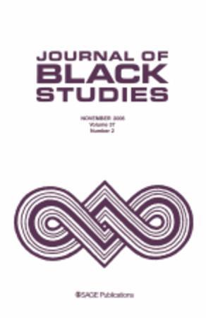 Journal of Black Studies template (SAGE)