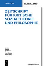 Zeitschrift für kritische Sozialtheorie und Philosophie template (De Gruyter)