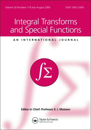 Integral Transforms and Special Functions template (Taylor and Francis)