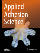 Applied Adhesion Science template (Springer)