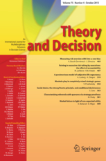 Theory and Decision template (Springer)