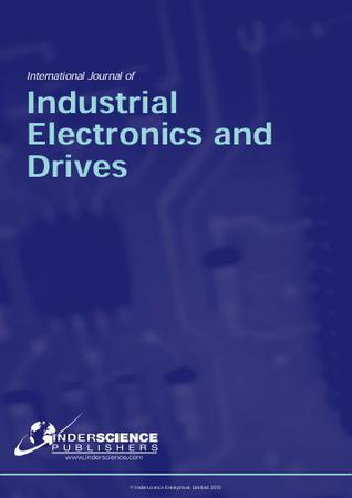 International Journal of Industrial Electronics and Drives template (Inderscience Publishers)
