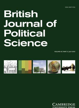 British Journal of Political Science template (Cambridge University Press)
