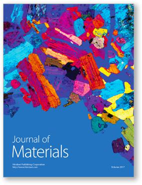 Journal of Materials template (Hindawi)