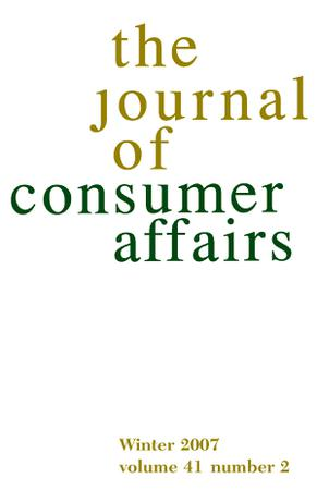Journal of Consumer Affairs template (Wiley)