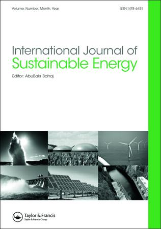 International Journal of Sustainable Energy template (Taylor and Francis)