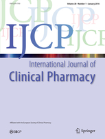 International Journal of Clinical Pharmacy template (Springer)