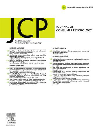 Journal of Consumer Psychology template (Elsevier)