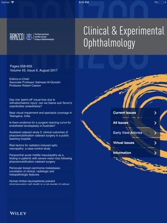 Clinical & Experimental Ophthalmology template (Wiley)