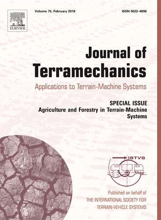 Journal of Terramechanics template (Elsevier)