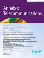 Annals of Telecommunications template (Springer)