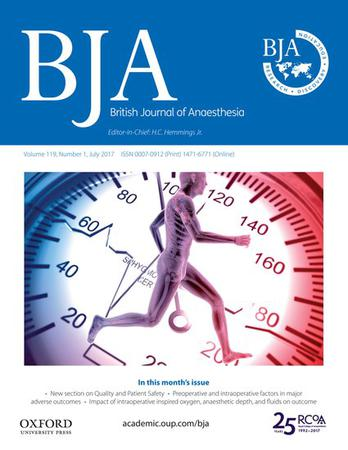 BJA: British Journal of Anaesthesia template (Oxford University Press)