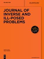 Journal of Inverse and Ill-posed Problems template (De Gruyter)